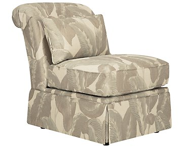 Erin Multicolored Green Accent Chair