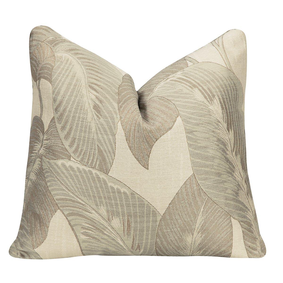 Erin Multicolored Green Square Accent Pillow