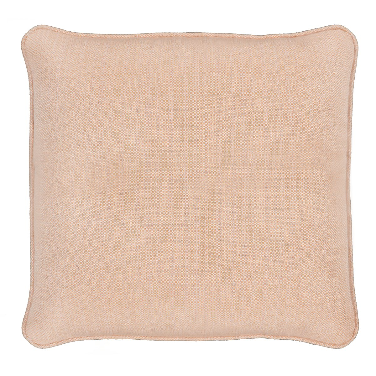 """Moka Light Orange 18"""" Indoor/Outdoor Accent Pillow"""