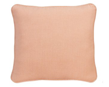"Sensation Light Orange 18"" Accent Pillow"