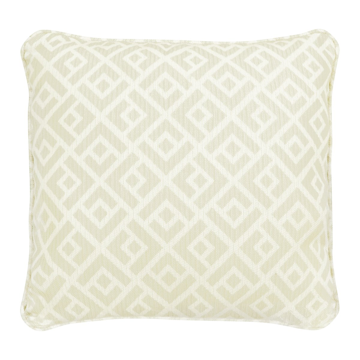 Chipper Light Green Fabric Accent Pillow