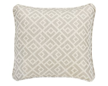 "Chipper Light Gray 18"" Accent Pillow"