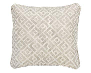 """Chipper Light Gray 18"""" Accent Pillow"""