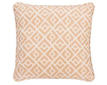 "Chipper Light Orange 18"" Accent Pillow"