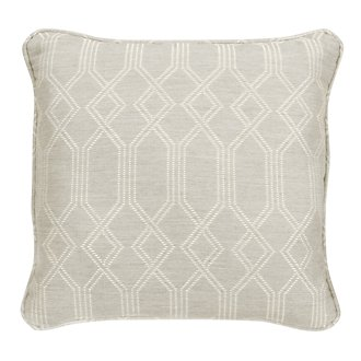 "Connect Light Gray 18"" Indoor/Outdoor Accent Pillow"