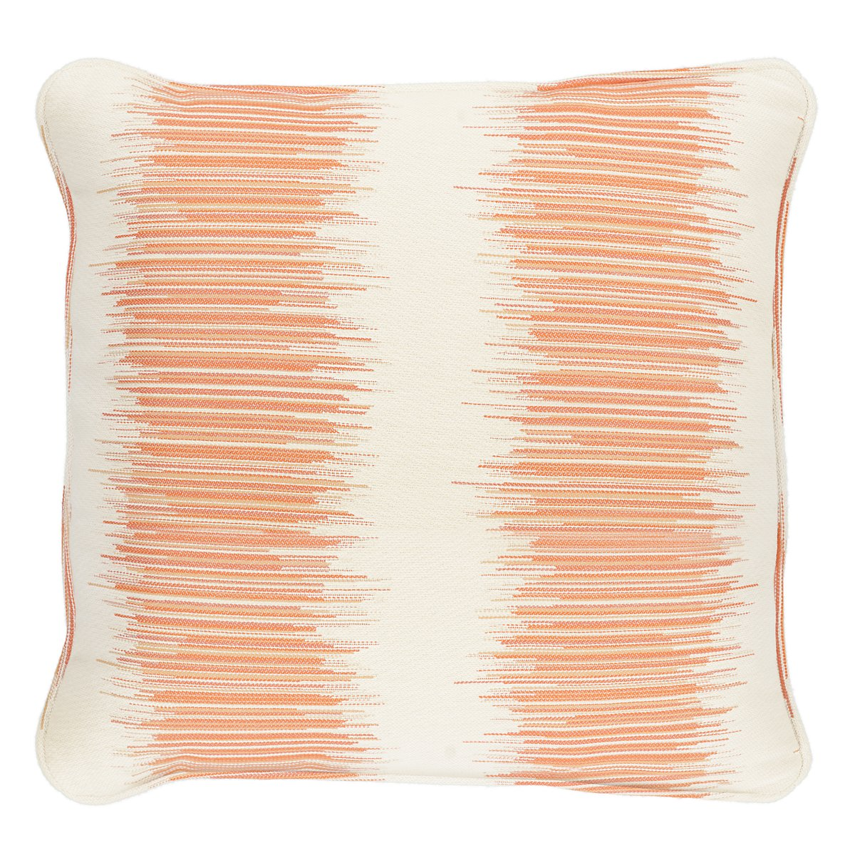 "Impromptu Orange 18"" Accent Pillow"