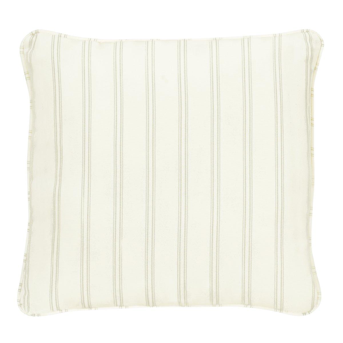 """Espadrille Light Green 18"""" Accent Pillow"""