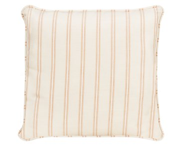 "Espadrille Light Orange 18"" Accent Pillow"