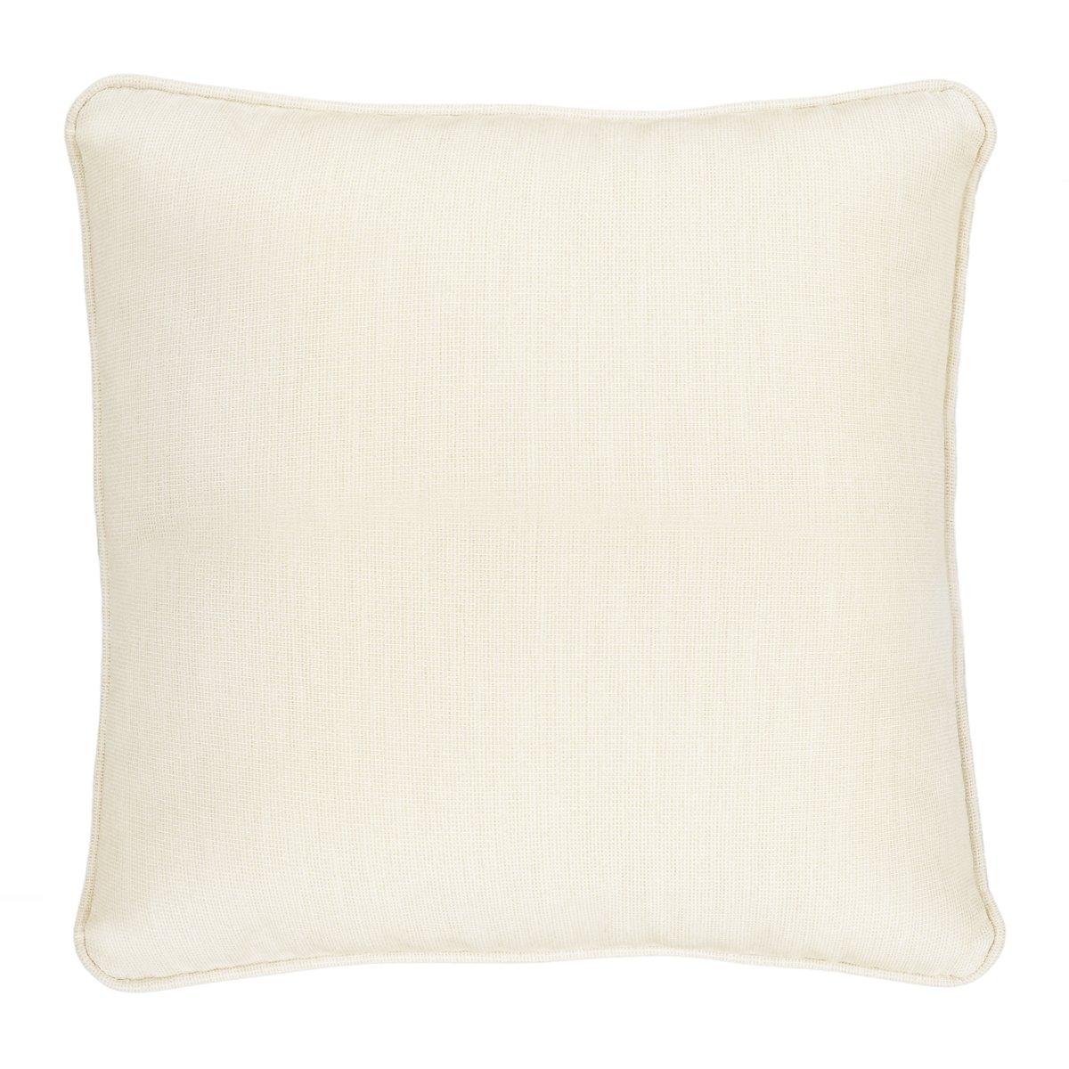 """Demo Light Beige 18"""" Indoor/Outdoor Accent Pillow"""