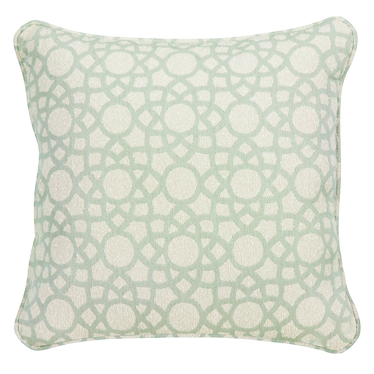 "Sophisticate Light Green 18"" Accent Pillow"