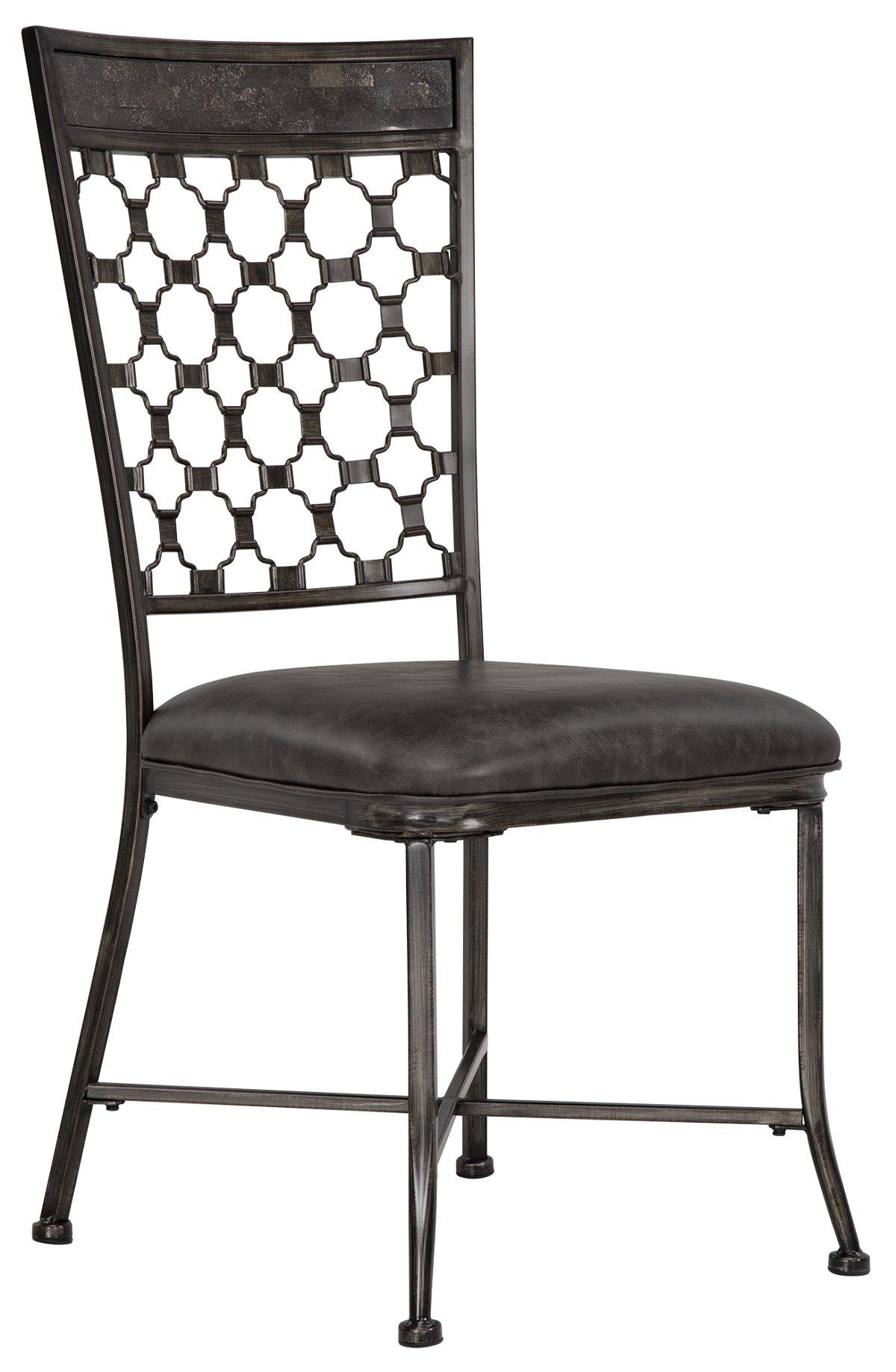 City Furniture Brescello Dk Gray Side Chair