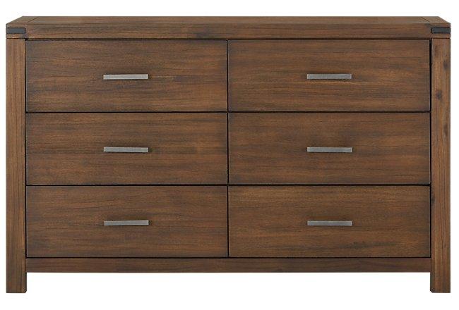 Jake Dark Tone Wood Dresser
