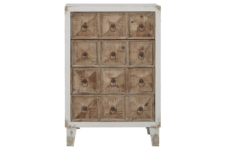 Pauline White  Accent Chest