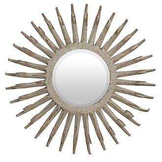 Saddie Light Beige Mirror