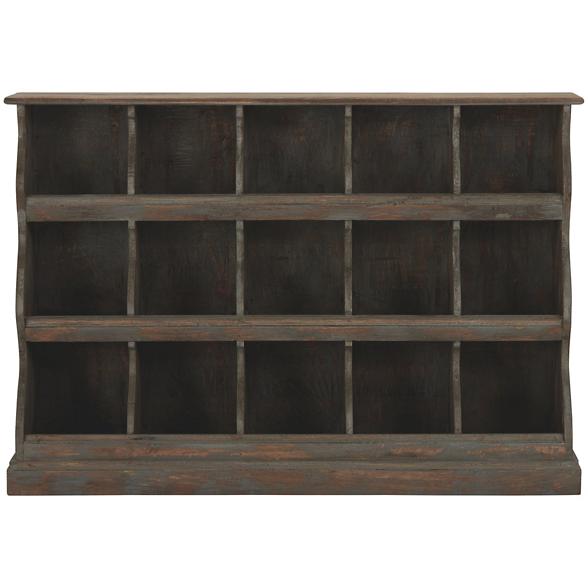 Drina Wood Wall Shelf