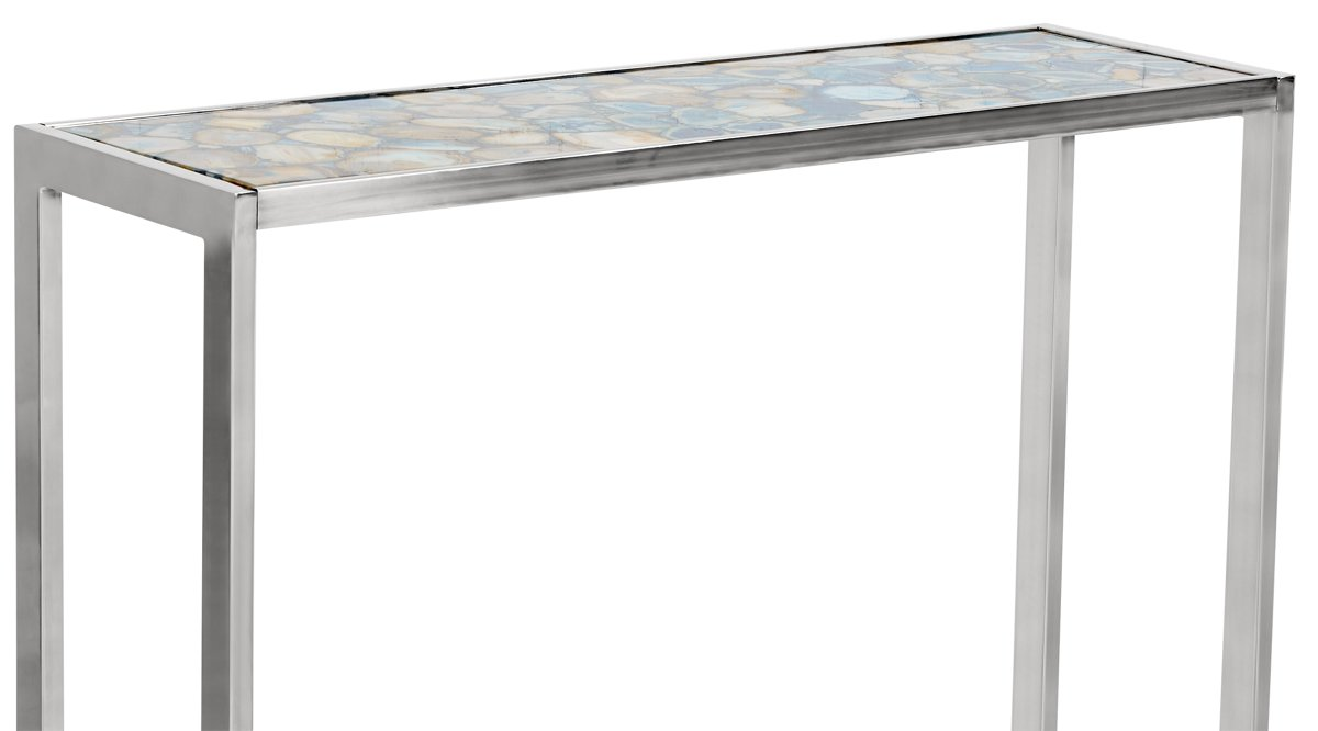 Agate Blue Console Table
