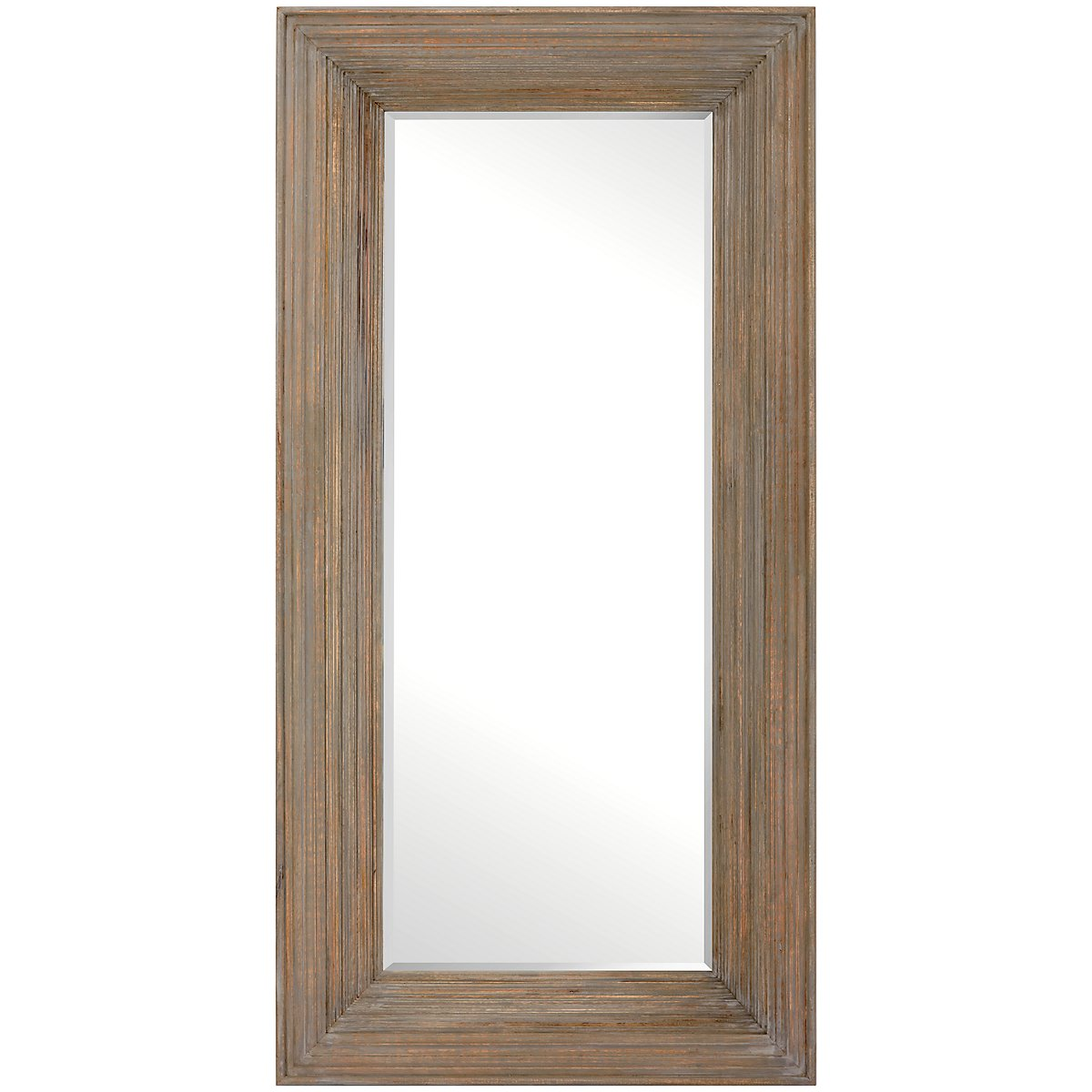 Bailey Wood Floor Mirror