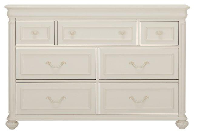 Charlotte Ivory Wood Dresser
