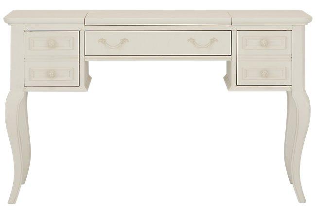 Charlotte Ivory Wood Desk