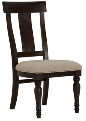 Sterling Dark Tone Wood Side Chair