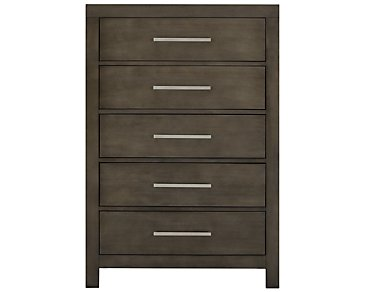 Omaha Gray Drawer Chest