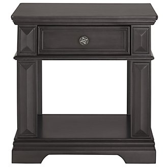 Emerson Gray Rectangular End Table
