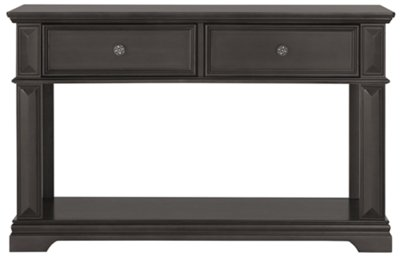 City Furniture Emerson Gray Sofa Table
