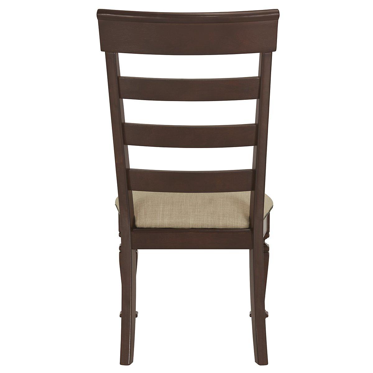 Emerson Dark Tone Wood Wood Side Chair