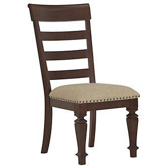 Emerson Dark Tone Wood Side Chair