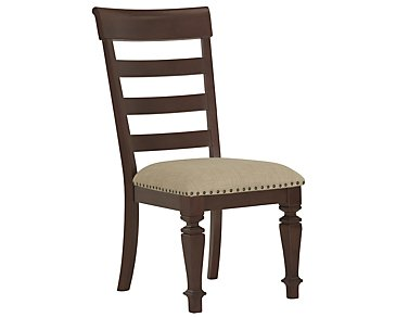 Emerson Dark Tone Wood Side Chair