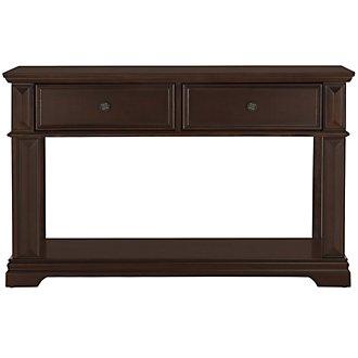 Emerson Dark Tone Sofa Table