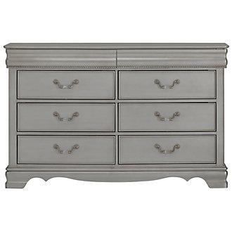 Jessica Silver Dresser