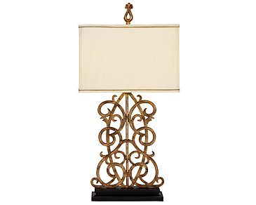 Jardin Gold Table Lamp