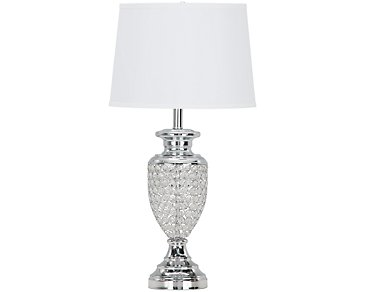Glitz Clear Table Lamp