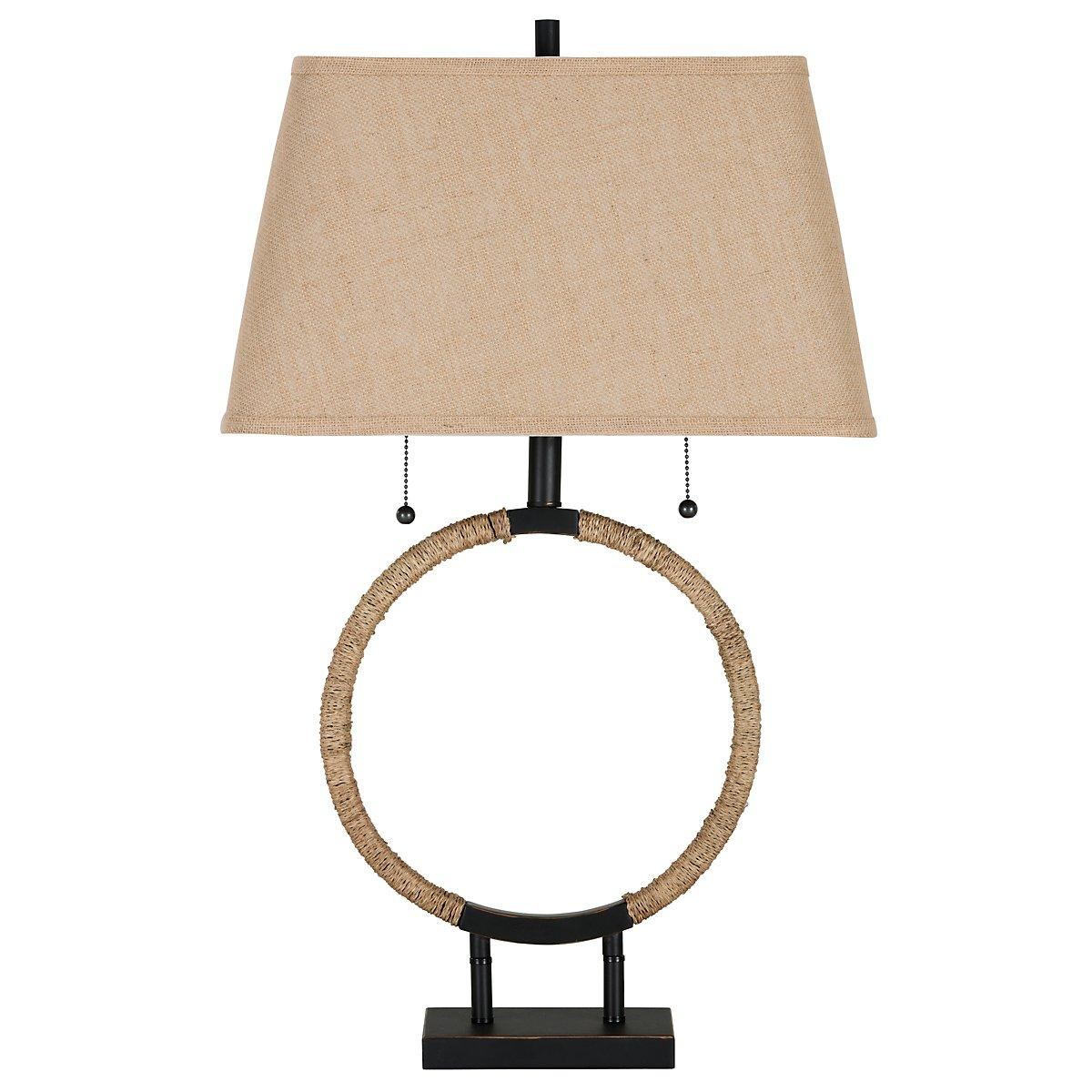 Zenity Light Beige Table Lamp
