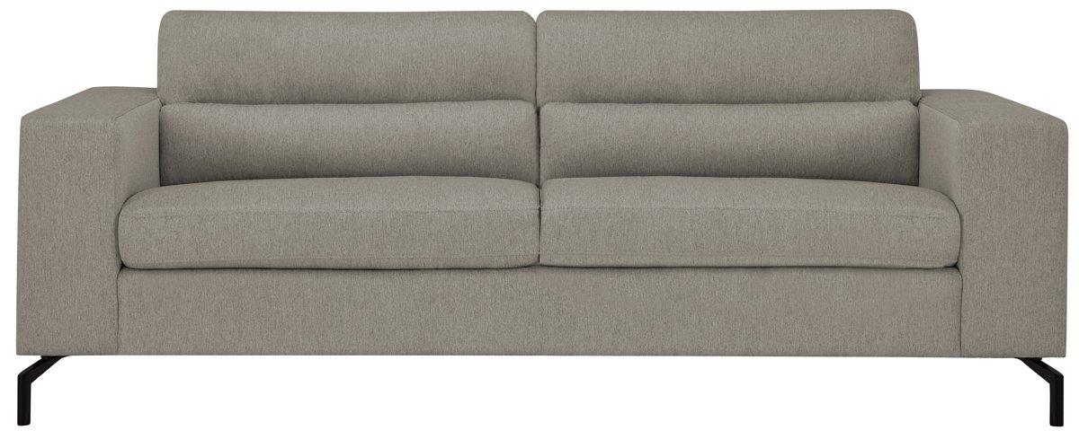 Knox Light Gray Fabric Sofa