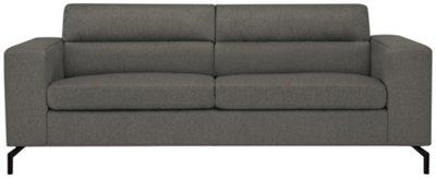 Knox Dark Gray Fabric Sofa