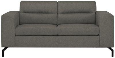 Knox Dark Gray Fabric Loveseat