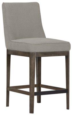 """Rylan Gray 24"""" Upholstered Barstool"""
