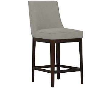 """Rylan Dark Tone 24"""" Upholstered Barstool"""