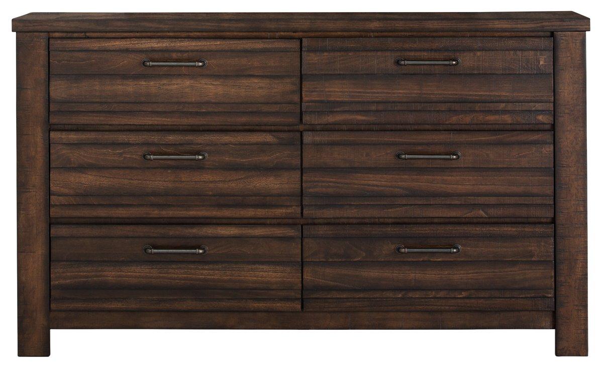 Nolan Dark Tone Wood Dresser