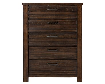 Nolan Dark Tone Drawer Chest