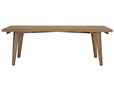 Casablanca Light Tone Rectangular Table