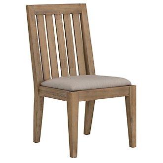 Casablanca Light Tone Wood Side Chair