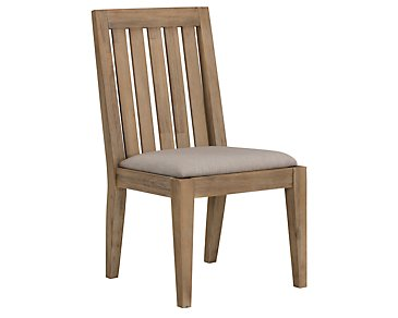 Casablanca Light Tone Wood Side Chair
