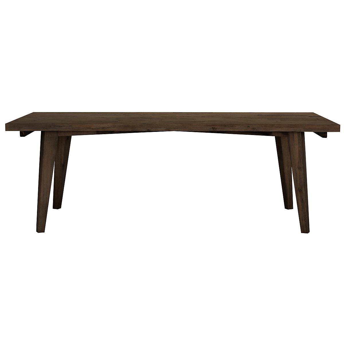 Casablanca Dark Tone Rectangular Table
