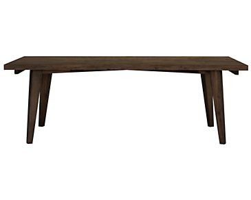 Casablanca Dark Tone Rectangular Table
