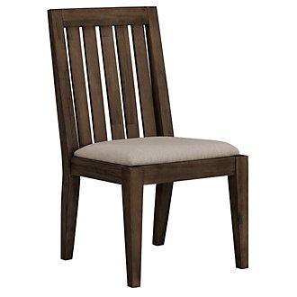 Casablanca Dark Tone Wood Side Chair
