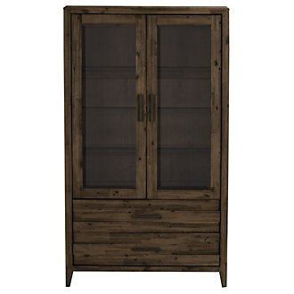 Casablanca Dark Tone China Cabinet