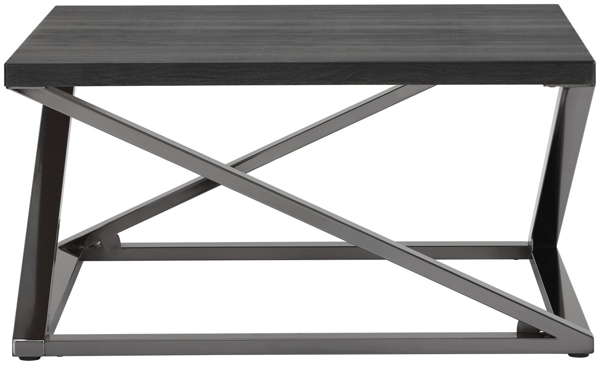Aegean Dark Tone Metal Square Coffee Table